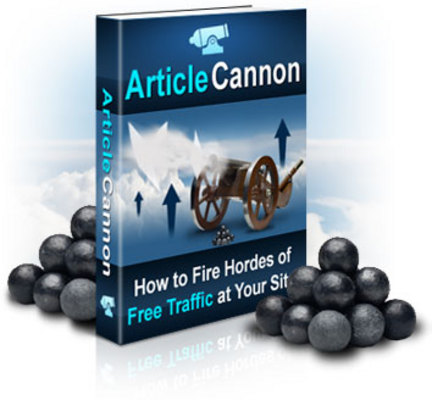 Product picture Article Cannon - Make Money Online With Article Marketing